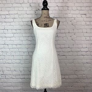 BB Dakota Sleeveless Lace Over Dress 4